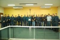 Câmara Municipal homenageia Policial Militar reformado