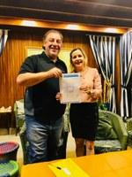 Janete Córdoba conquista recursos para atender piscicultores, E.M. Antônio Pinto e Saúde Pública de Amambai