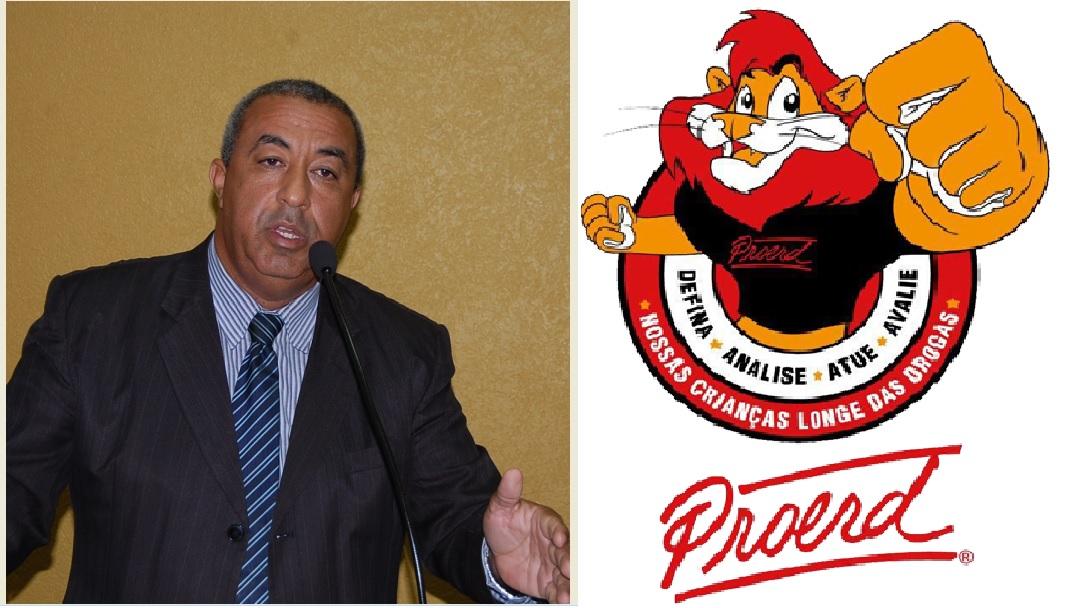Presidente da Câmara solicita reativação do projeto PROERD