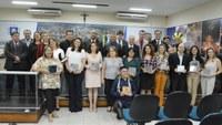 Sessão Solene em Homenagem aos professores