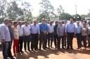 Vereadores acompanham Governador durante lançamento de obras em Amambai
