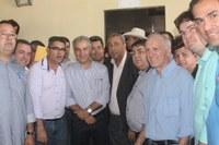 Vereadores acompanham passagem do Governador por Amambai