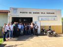 Vereadores destacam reforma do posto da Vila Doriane