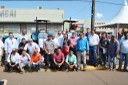 Vereadores participam de entrega de equipamentos agrícolas para comunidade indígena