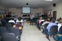 Vereadores participam de reunião do Conselho Municipal de segurança