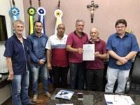 Vereadores recebem diretor-presidente do Previbai
