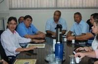 Vereadores se reúnem com o novo coordenador do Governo do Estado